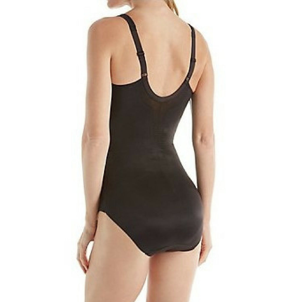 Miraclesuit Flexible Fit Wire Free Slimming Bodysuit Black Back View