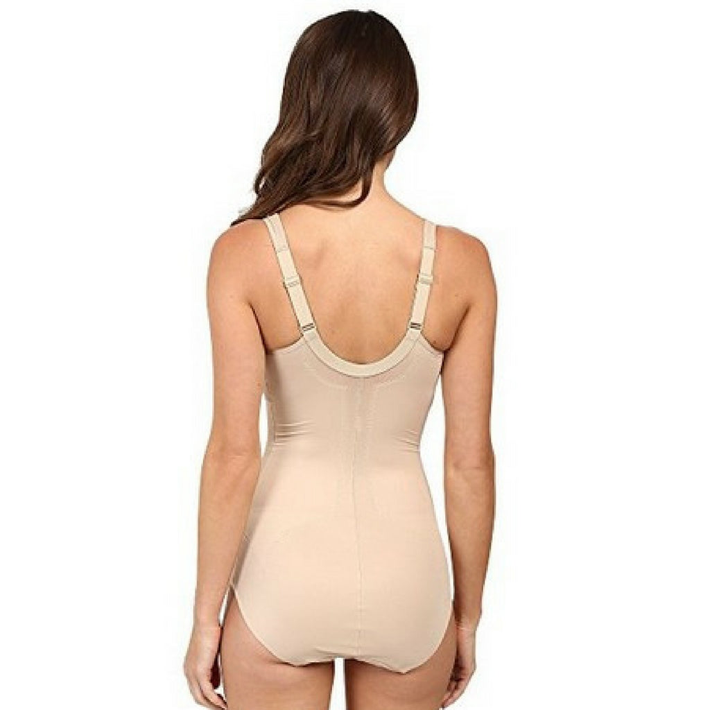 Miraclesuit Flexible Fit Wire Free Slimming Bodysuit Natural Back View