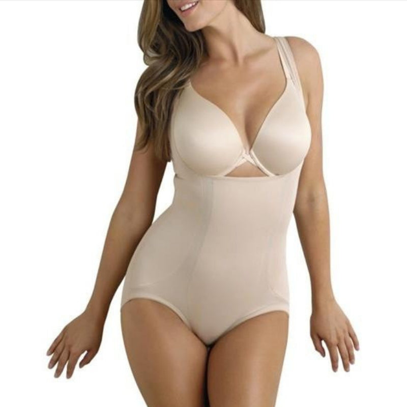 Miraclesuit Extra Firm Control Body Briefer Nude Front