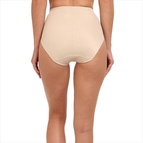 Miraclesuit Comfort Leg Waistline Slimming Pants In Natural Back View