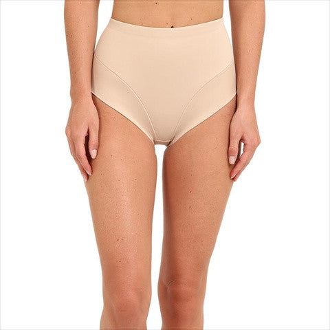 Miraclesuit Comfort Leg Waistline Slimming Pants In Natural Front View