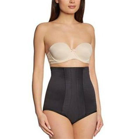 Miraclesuit Inches Off High Waist Control Brief In Black