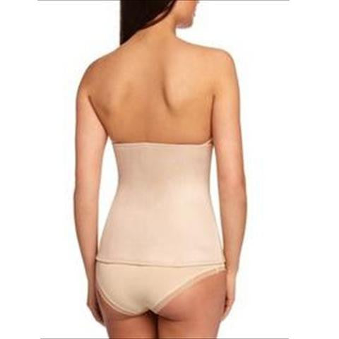 Miraclesuit Inches Off Boned Waist Cincher In Natural Back View