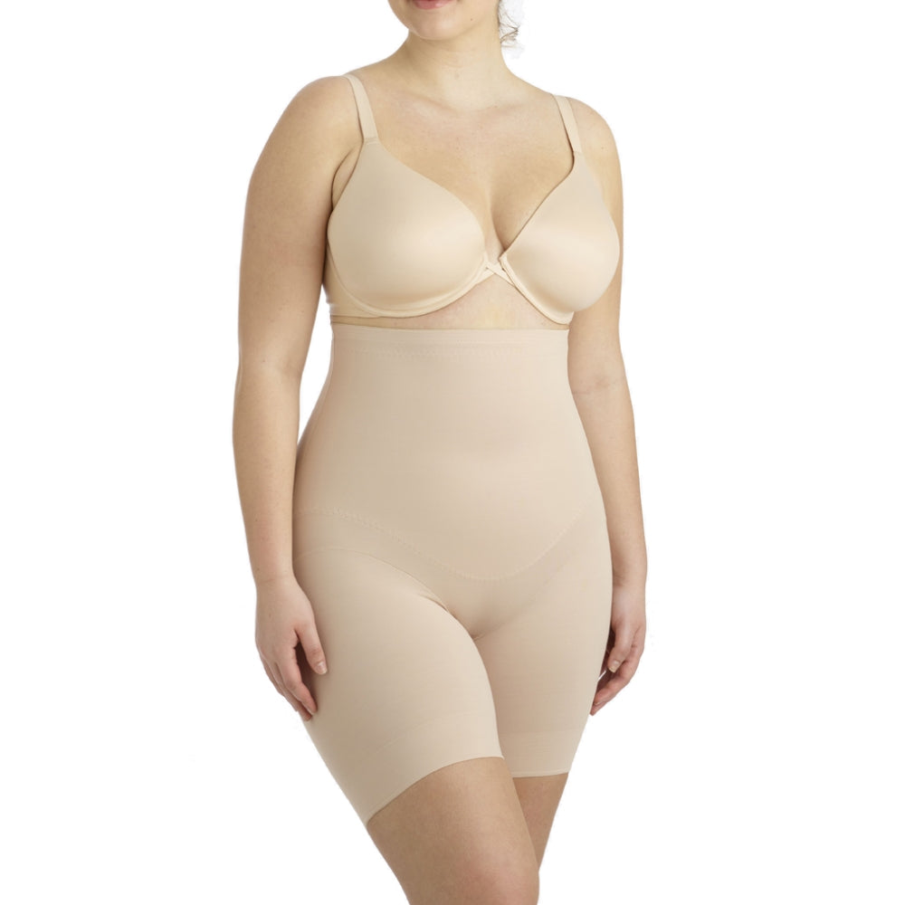 Miraclesuit Flexible Fit Plus Size High Waist Thigh Slimmer 2939 Natural