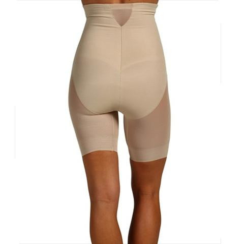 Miraclesuit Sexy Sheer Shaping High Waist Thigh Slimmer Back View