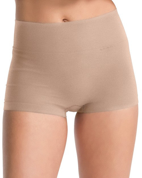 Spanx Everyday Shaping Panties Boy Short - SS0915 - Natural Front View