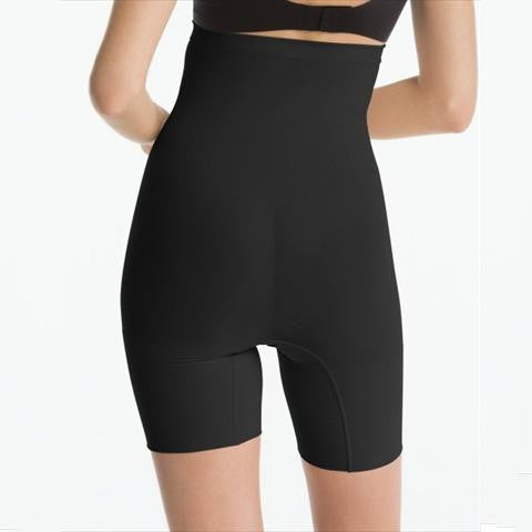Spanx Higher Power Short In Black Back View