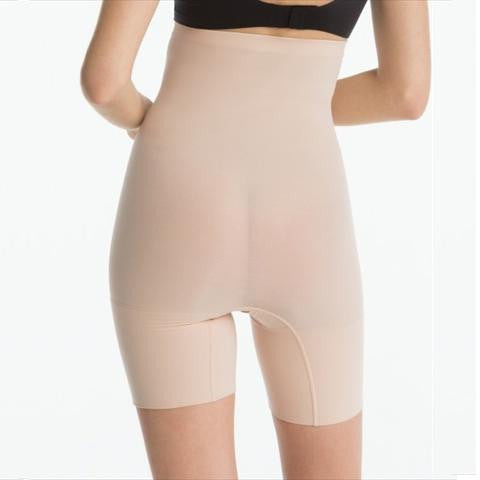 Spanx Higher Power Short In Natural Back View