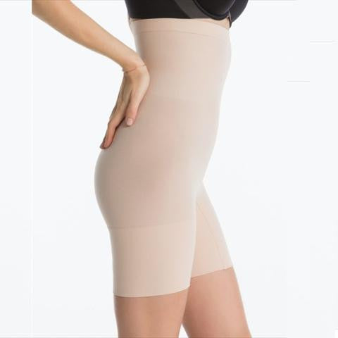 Spanx Higher Power Short In Natural Side View