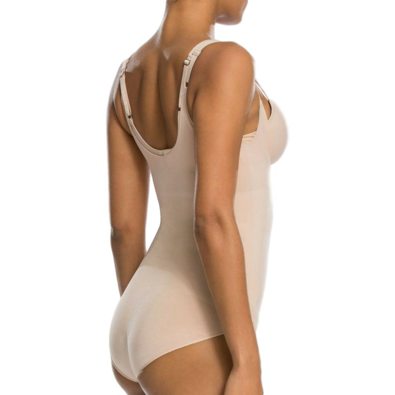 spanx oncore bodysuit 10129r nude back