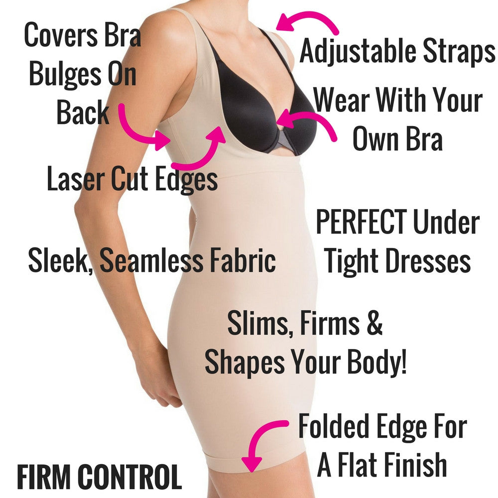 spanx shape my day shapewear slip