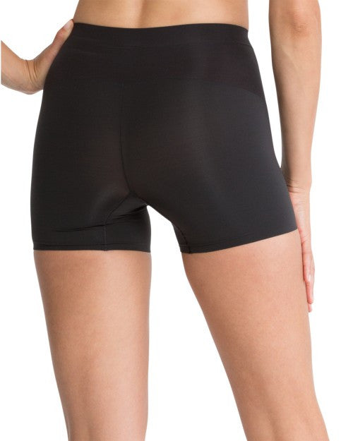 Spanx Shape My Day Slimming Girl Shorts - SS7215 Black Back View
