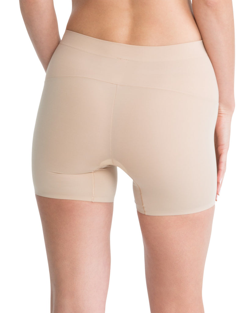 Spanx Shape My Day Slimming Girl Shorts - SS7215 Nude Back View
