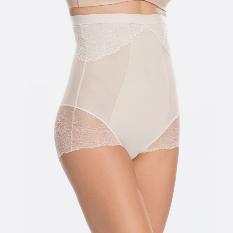 Spanx Spotlight On Lace Firm Control Briefs White Side