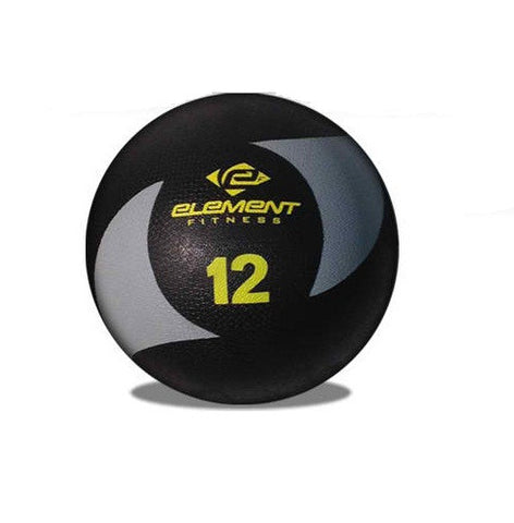Element Fitness Commercial 12lbs Medicine Ball