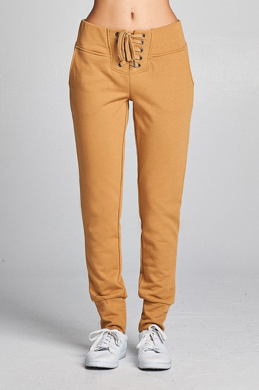 Camel Track Pants-1 LEFT!