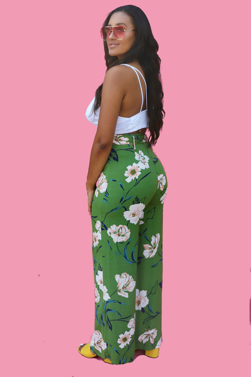 Monet Gaucho Pants-1 LEFT!