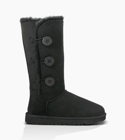 UGG: Bailey Button Triplet - Black