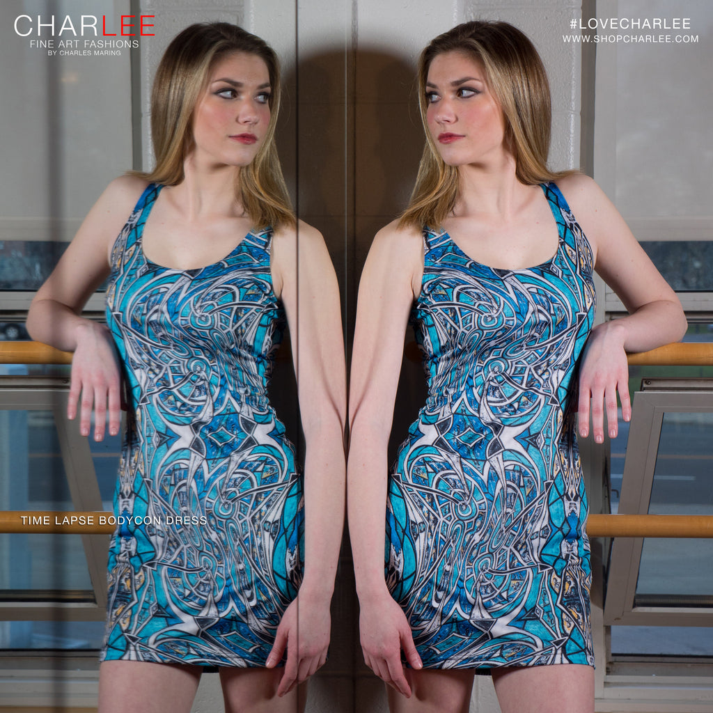 Time Lapse Bodycon Dress by Charlee