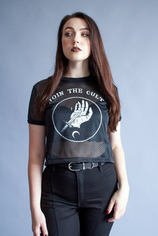 ''Join The Cult'' Sleeveless Tank Top