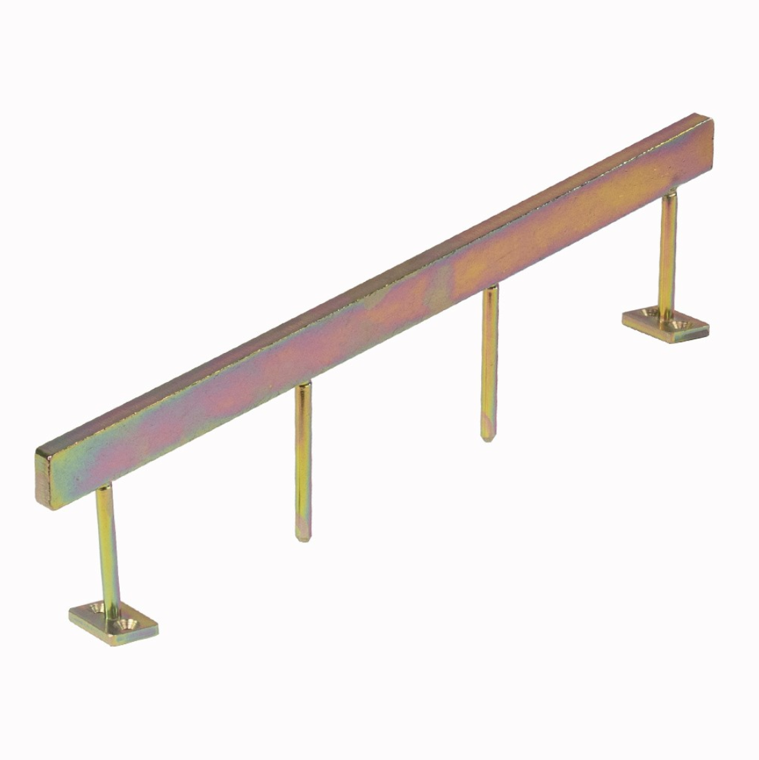 Blackriver ramps - Stairset Rail Square Gold Single