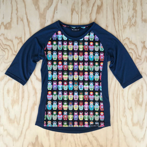 Matryoshka Riding Shirt