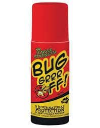 Bug-grrr Off - Natural Insect 6 Hour Protection Roll-On 90ml