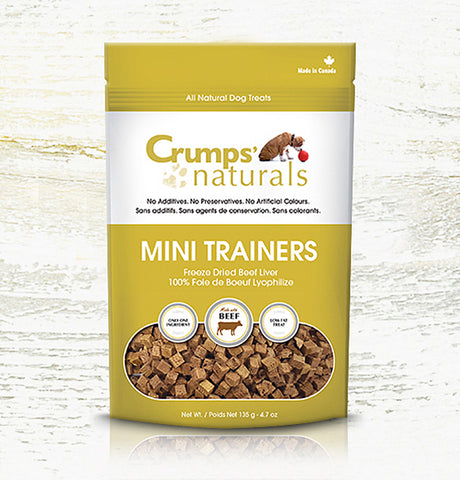 Mini Trainers - Freeze Dried Beef Liver