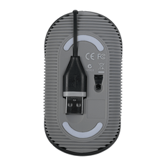 Targus Mouse Óptico con Cable USB Retráctil AMU76US