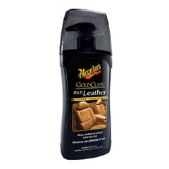 Meguiars Gel Limpiador y Acondicionador Cueros Gold Rich Leather Cleaner Conditioner, 13.05 oz