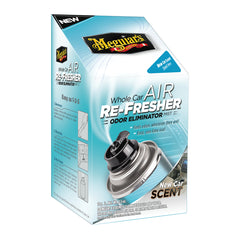 Meguiars Eliminador de Olores Air Re-fresher en Aerosol (New Car Scent), 740 ml