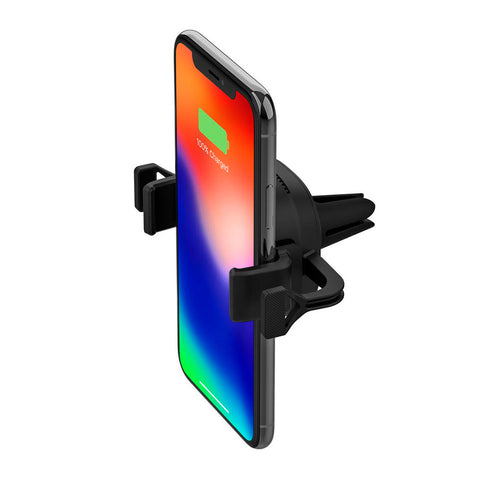 Mophie Cargador Base Holder Inalámbrico para Carro + Adaptador de Corriente para el Carro