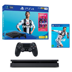 Sony Consola Video Juegos Play Station 4 Slim, 1TB Bundle FIFA 2019