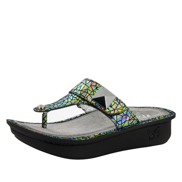 Carina Tectonic Sandal - Alegria Shoes - 1