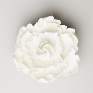 "3.5"" Closed Peony - Medium - White (9 per box)"