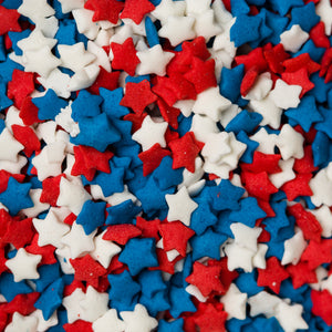 Red, White & Blue Star Quins