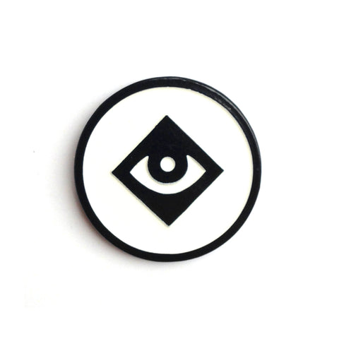 Diamond Eye Enamel Pin