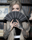 sourpuss retro spiderweb fan