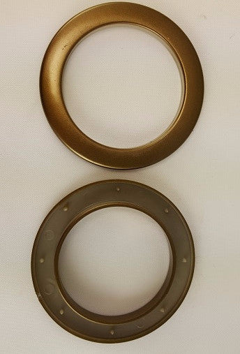 Antique Brass Grommets, 2'' (10 pack)