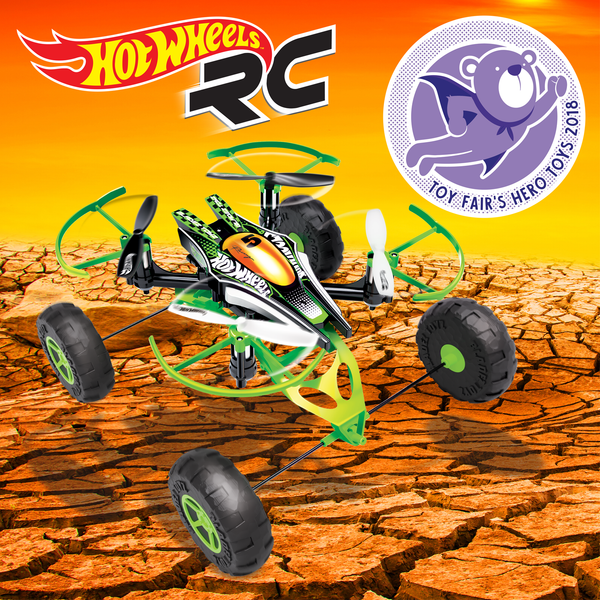 Bladez Toyz Hot Wheels R/C Monster X-Terrain Drone Wins Hero Toys Award!
