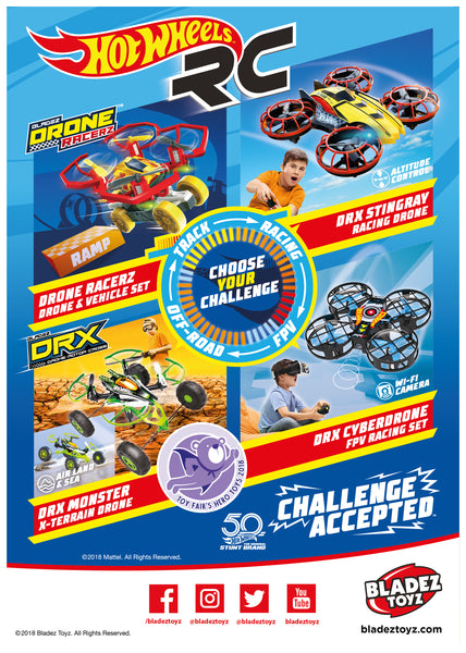 Bladez Toyz Unveils New Hot Wheels R/C Range at London Toy Fair