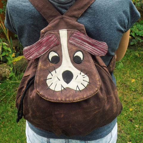 Fair Trade Dog Backpack