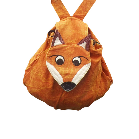 Fair Trade Fox Backpack | Gifts for Animal Lovers