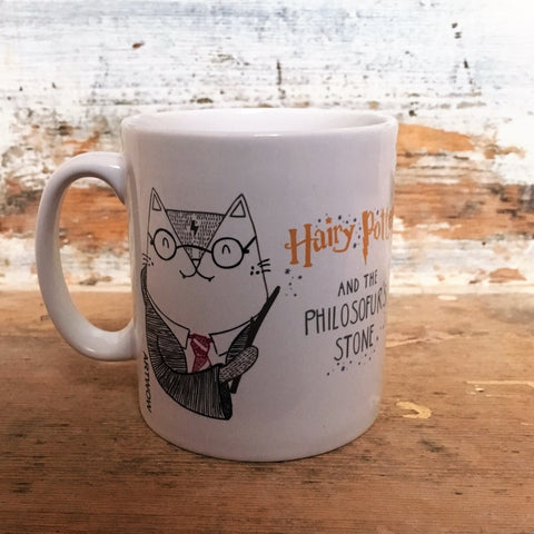 Hairy Potter Mug Front | Harry Potter Cat Gifts