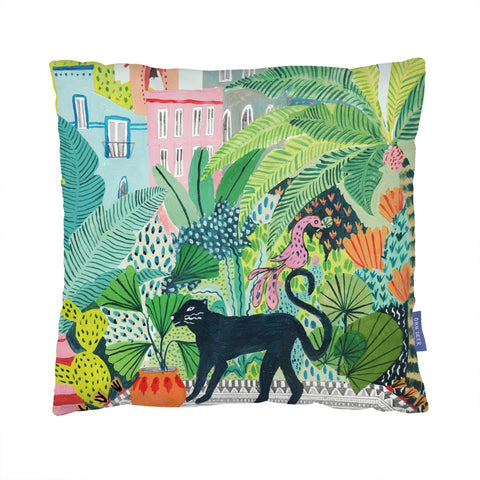 Jungle Panther Cushion | Gifts for Animal Lovers
