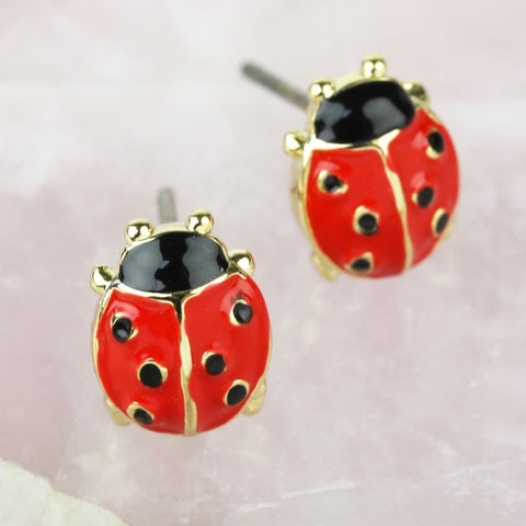 Ladybird Stud Earrings | Gifts for Animal Lovers