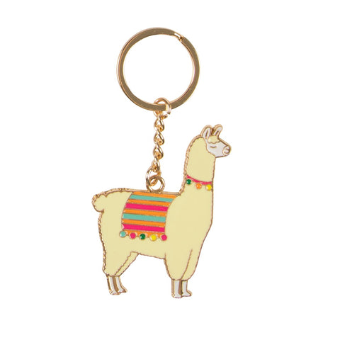 Llama Keyring by Sass & Belle | Gifts for Animal Lovers