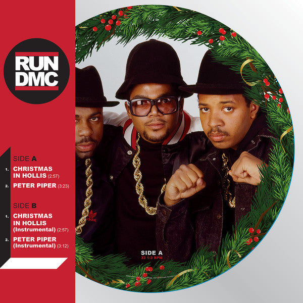 RUN-DMC - CHRISTMAS IN HOLLIS - LP