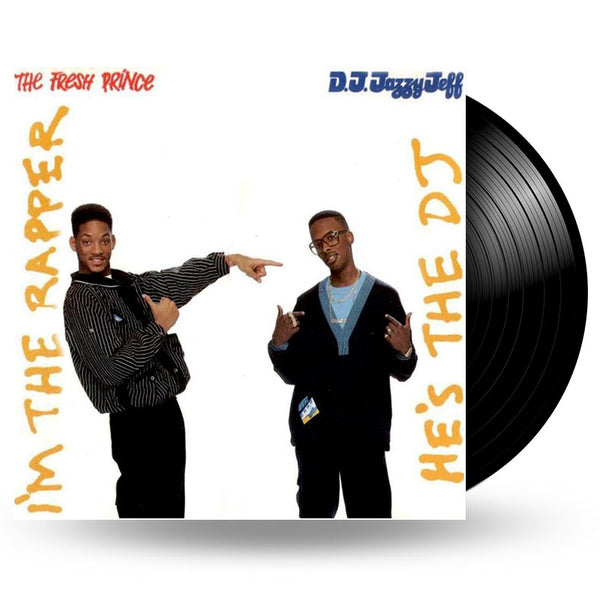 DJ JAZZY JEFF & THE FRESH PRINCE - HE'S THE DJ, I'M THE RAPPER - 2LP
