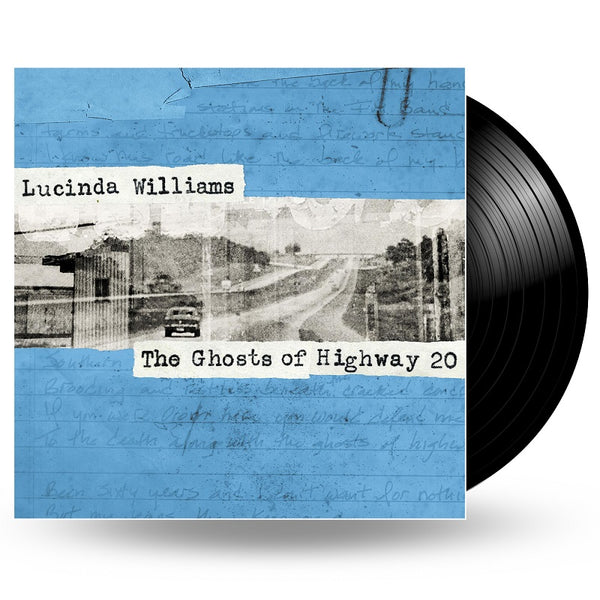 LUCINDA WILLIAMS - THE GHOSTS OF HIGHWAY 20 - 2LP